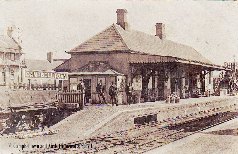 Campbelltown Station c 1916
