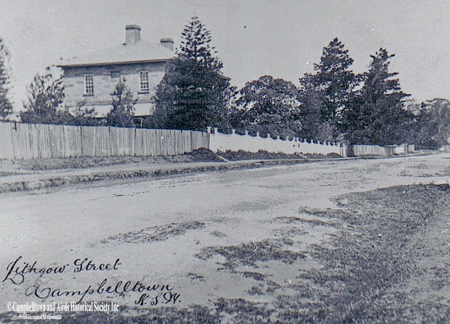 Glenalvon and Lithgow Street