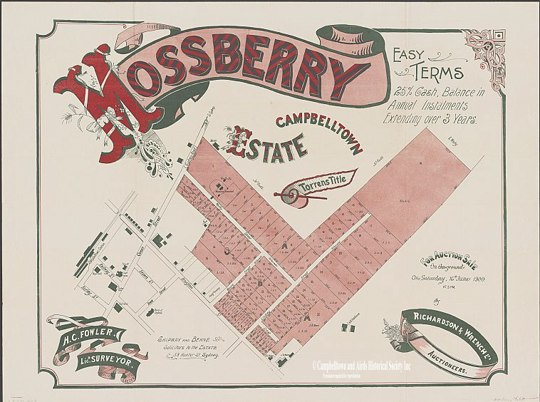 Mossberry Estate 1900